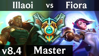 ILLAOI vs FIORA (TOP) // Korea Master // Patch 8.4