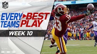 Every Team's Best Play of Week 10 💯 | NFL Highlights