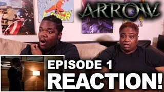 Arrow season 6 episode 1 : reaction with mom!!