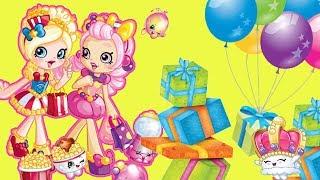 Shopkins • Urodzinowe prezenty • niespodzianki • bajki dla dzieci