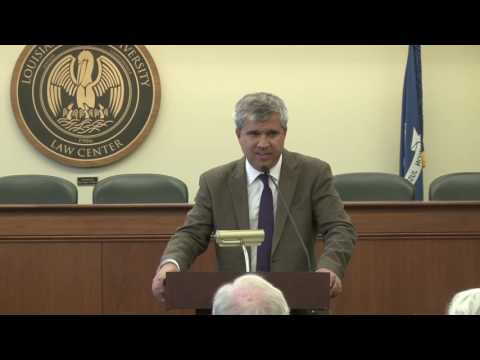 Santiago Legarre en Louisiana State University: Natural Law and Constitutional Law
