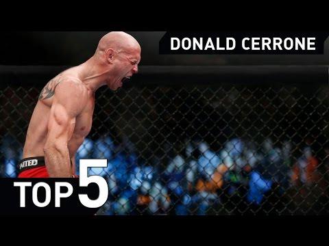 Donald Cowboy Cerrone MMA Jiu jitsu UFC fight TOP 5 Highlight 2015