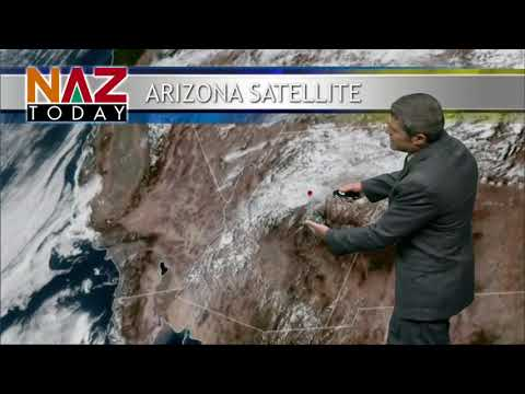 Flagstaff Weather--October 10, 2018