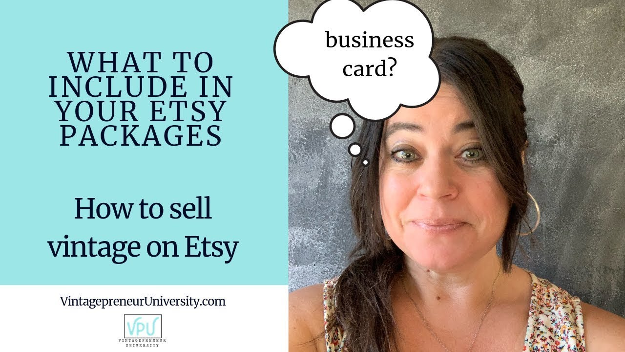 What To Include In Your Etsy Packages: How To Sell Vintage On Etsy