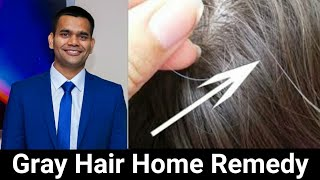 Home Remedy For Gray Hair | Prevent Gray Hair Naturally