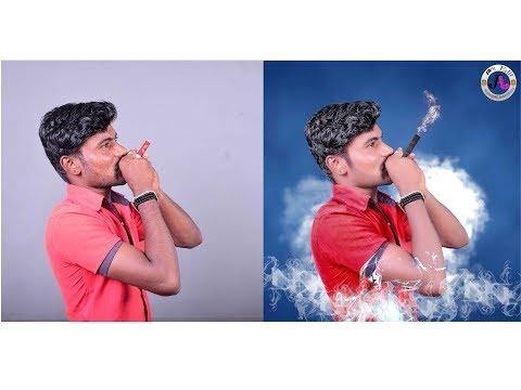 smoker new photo editing in photoshop cc