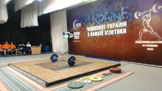 Чемпіонат України з важкої атлетики серед молоді до 23 років. 8 серпня, ч.2