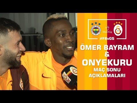 🎙 Onyekuru ve Ömer Bayram'ın Maç Sonu Açıklamaları – Fenerbahçe 1- 3 Galatasaray #FBvGS