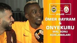 🎙 Onyekuru ve Ömer Bayram'ın Maç Sonu Açıklamaları - Fenerbahçe 1- 3 Galatasaray #FBvGS