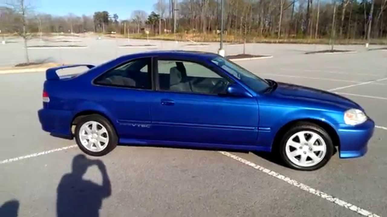 CHEAP 1999 Honda Civic Si  YouTube