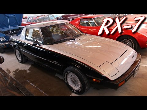 1980 Mazda RX-7 12A Rotary Five-speed - Very Original Condition