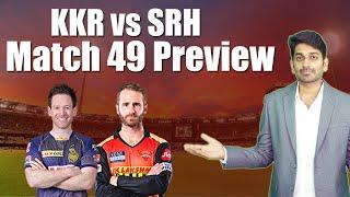 SRH vs KKR Match 49 Preview | IPL 2021 | Eagle Sports