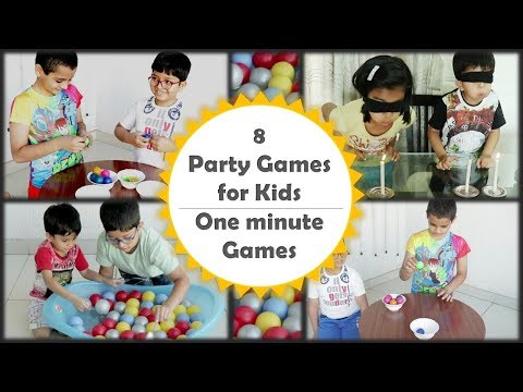 Indoor Games And Activities |Party Games For Kids | Minute To Win It Games For Kids And Adults[2019]