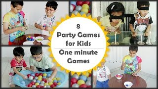 Party games for kids | Minute to win it games for kids and adults [2019]
