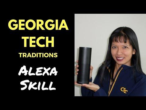 Georgia Tech Traditions Alexa Skill