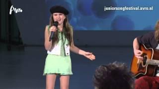Mailee - Girly Swirl | TV-auditie Junior Songfestival 2014