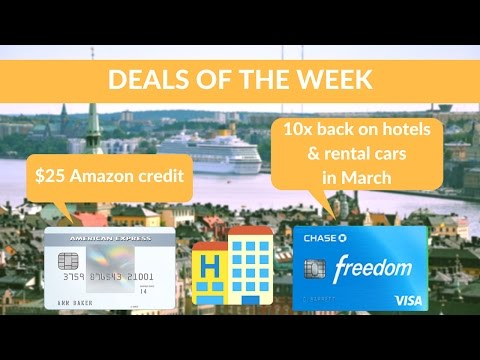 Free $25 on Amazon + 10x Ultimate Rewards on Hotels + US/Sweden for $400/$500