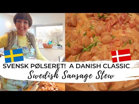 """🇩🇰 Danish Comfort Food! Svensk Pølsegryde (""""Swedish Sausage Stew"""")"""