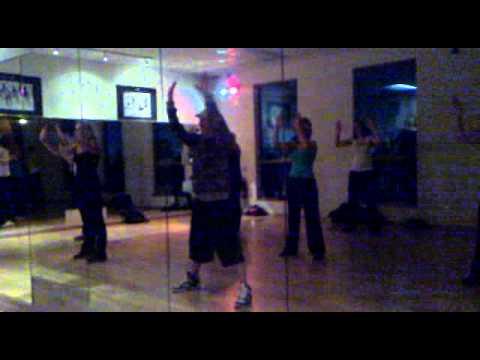 Contemporary Rap dance routine at LLC