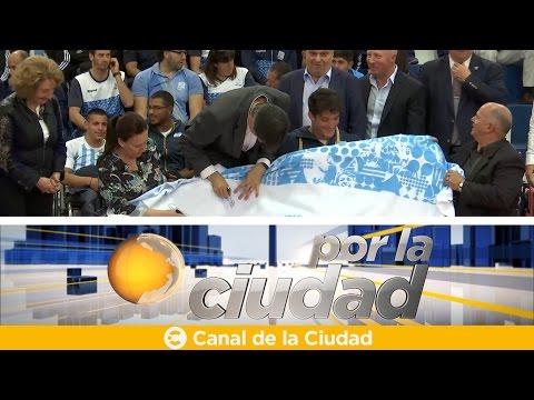 """<h3 class=""""list-group-item-title"""">Despedida de los atletas paralímpicos que participarán en Rio 2016 - Por la ciudad</h3>"""