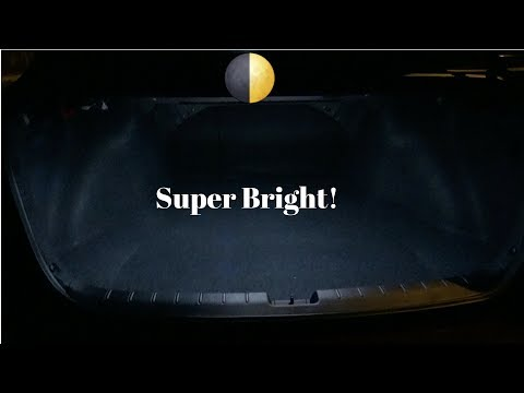 2017 Honda Accord LED Interior Lights Installed Map Light, Trunk Light and Reverse Light