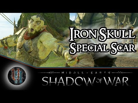 Middle-Earth: Shadow of War - Iron Skull | Special Scar