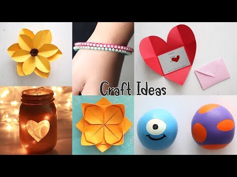 10 Genius Crafts To Make In 5 MINUTE | Craft Ideas