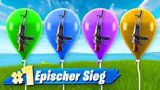 Lucky Ballon Challenge in Fortnite 🎈