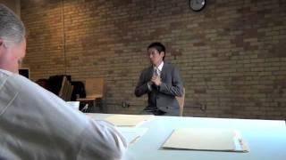 Job Interview November 2011: Tetsuya Nishioka.