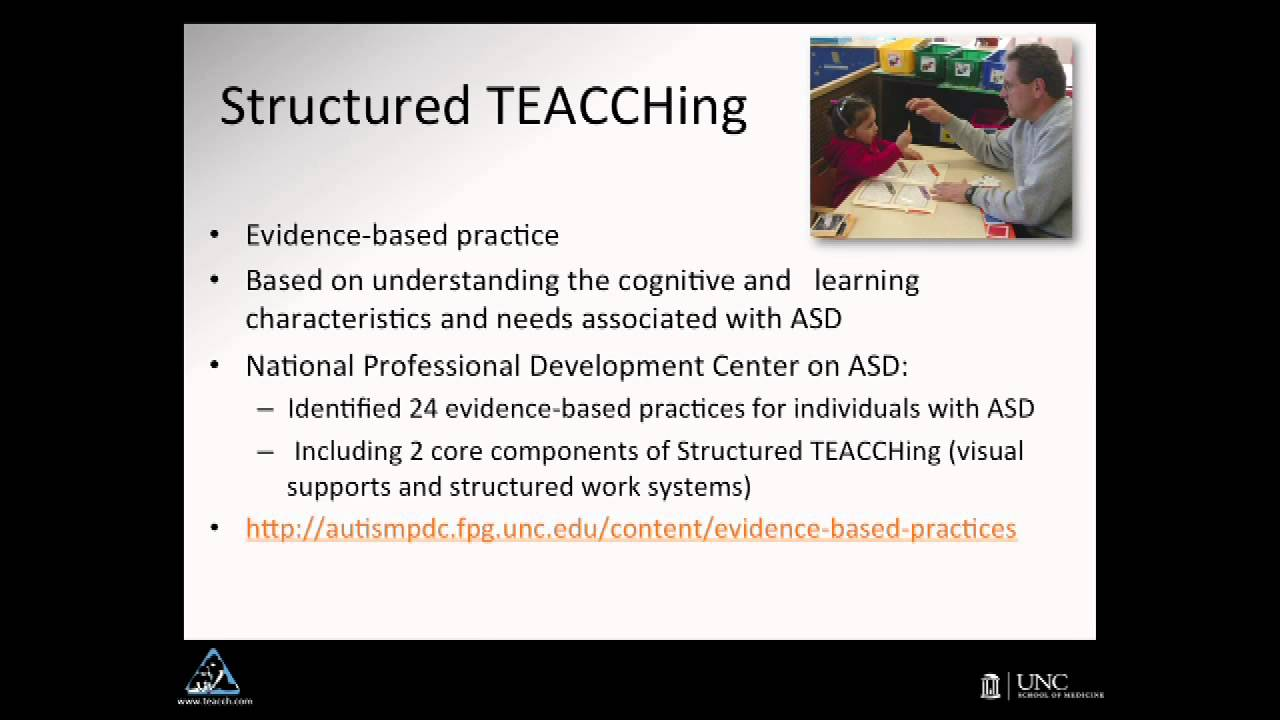 The TEACCH Autism Program - The Next Forty Years - YouTube