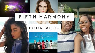 Fifth Harmony 7/27 Tour Concert Vlog