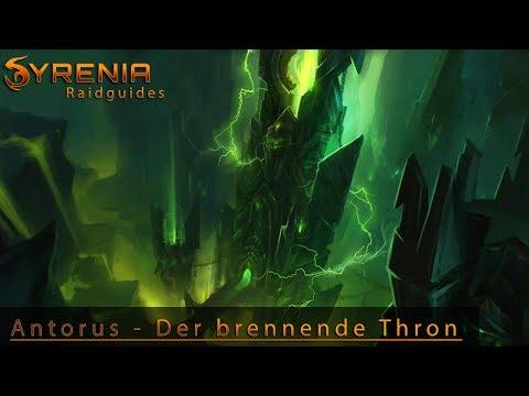 Syrenia's Antorus Raidguide  NHC | HC Full Guide Video Livestream