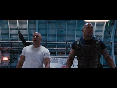 Fast & Furious 6 Plane Fight Scene (Part 2)