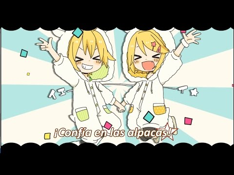 (Kagamine Rin·Len) Tayori ni naruze ☆ Alpaca! [Confía en las alpacas] (Sub español & romaji)