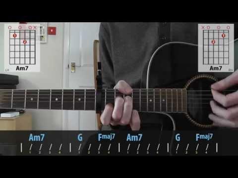 Ed Sheeran & Passenger - No Diggity guitar lesson for beginners