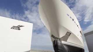 Luxury SuperYacht - Launch of CRN 80m M/Y Chopi Chopi