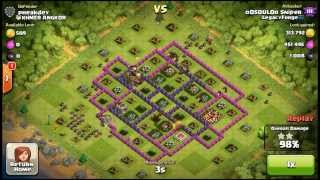 Clash of Clans - Daily Replay - Episode 6 - 700,000+ loot raid with hogz!!!!!