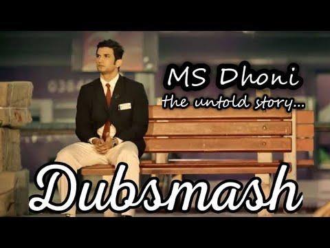 Ms DHONI dubsmash