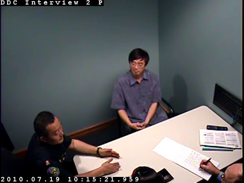 "Toronto Police interview the ""Chinese Warren buffett ""  computer programmer 谈话"