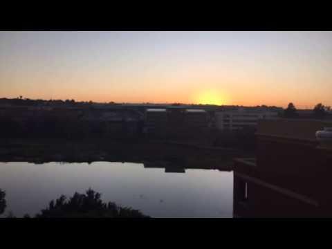 Sunrise in Johannesburg