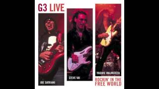 Joe Satriani, Steve Vai & Yngwie Malmsteen: G3 - Rockin' In the Free World (Live) [HQ]