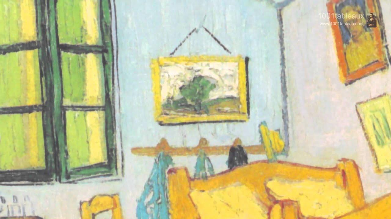 La chambre coucher par vincent van gogh youtube for Chambre van gogh