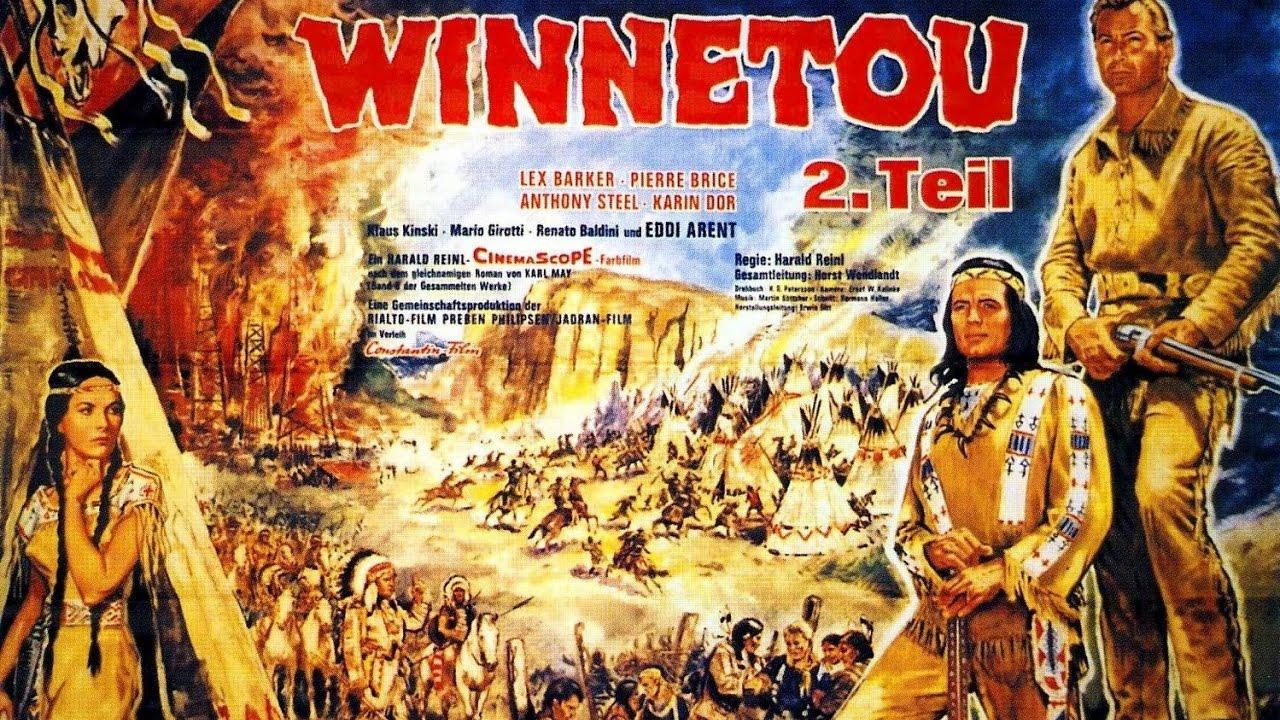 Teil Premium-Poster Winnetou 3 englisch