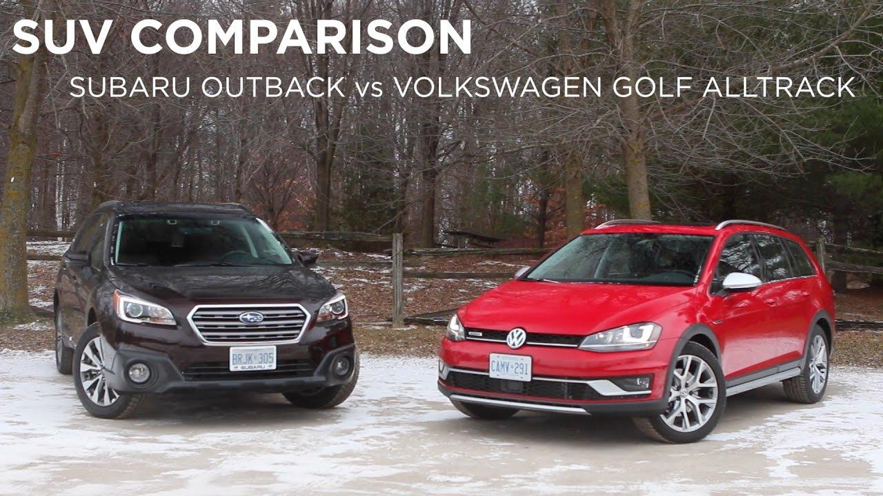 Subaru outback vs passat alltrack