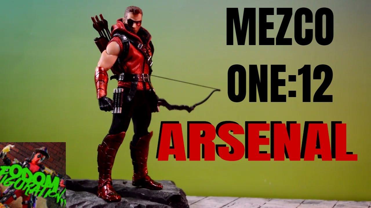 "DC Comics Mezco Toys One:12 Collective PX ARSENAL Green Arrow 6/"" Action Figure/_"