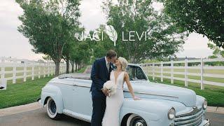 Stunning Aspen Ranch wedding | Emotional Oklahoma wedding video teaser
