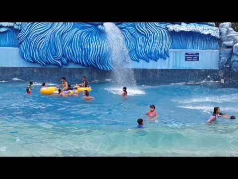 Swimming at Water Park Pondok Indah - Jakarta