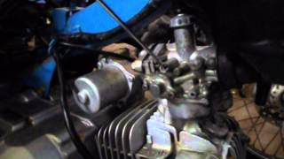 Cara menyetel Karburator pada motor Bebek