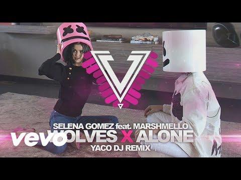 Wolves X Alone - Selena Gomez, Marshmello (YACO DJ MashUp).