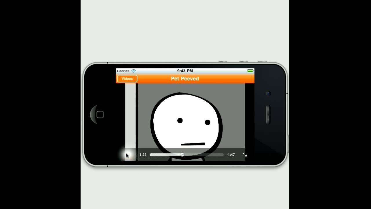 Go!Animate - Veedios app on iPhone - YouTube